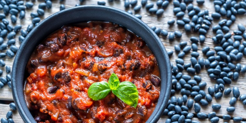 Double Bean & Roasted Pepper Chilli