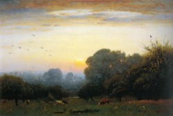 Morning 1878 By George Inness, Oil On Canvas